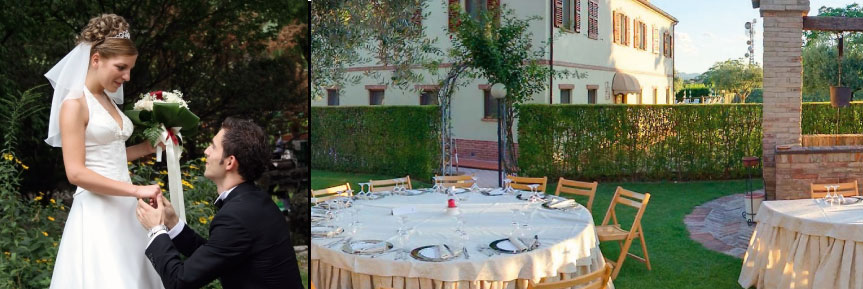 Restaurant for weddings in Ancona